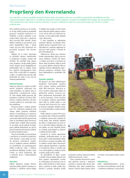 Propršený den Kvernelandu - Zemědělský týdeník č. 23/2015