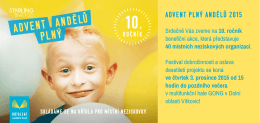 ADVENT PLNÝ ANDĚLŮ 2015