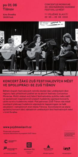 po 01 06 Tišnov - Concentus Moraviae