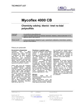 Mycoflex 4000 CB - CAPRO spol. s ro