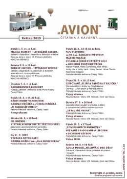 Program ke stažení - květen 2015