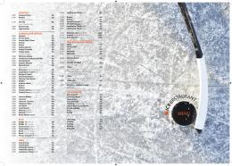 nápojový lístek - Ice arena Letňany