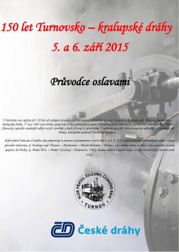 průvodce oslavami - Klub přátel železnic Českého ráje