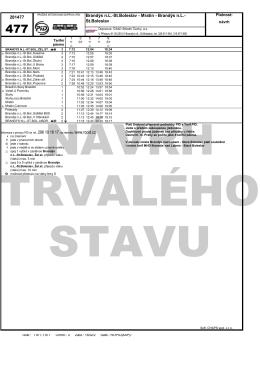 Linka 477 – navrhované plánované změny v jízdním řádu