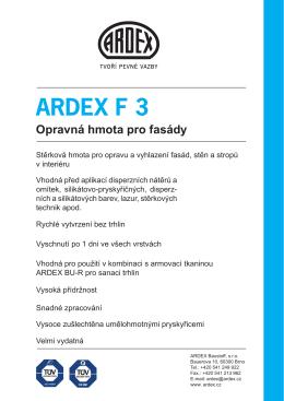 ARDEX F 3