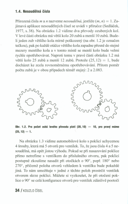 1.4. NesDudelná čísla docházet ke zcela rovnomémérnu