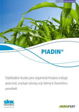 PIADIN® - SKW Stickstoffwerke Piesteritz GmbH
