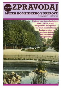 zpravodaj 3-2015.cdr - Muzeum Komenského v Přerově