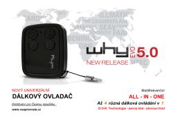 WHY EVO 5.0 cz - Vseprovrata.cz