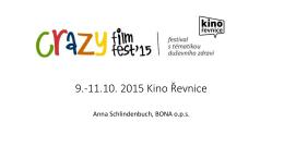 9.-11.10. 2015 Kino Řevnice