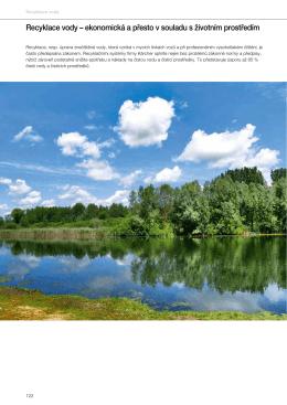 Recyklace vody – ekonomická a přesto v souladu s životním