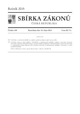 č. 269/2015 Sb.