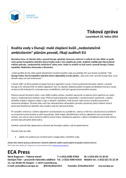 """Kvalita vody v Dunaji: malé zlepšení kvůli """"nedostatečně"""
