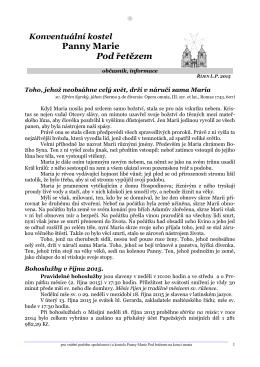 Říjen 2015 - Řád maltézských rytířů