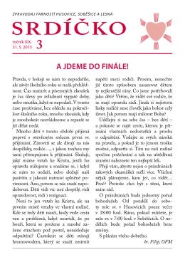 Srdíčko 3 - Farnost husovice