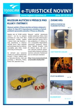 Turistické noviny - zima 2015/2016