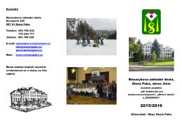 Masarykova základní škola, Stará Paka, okres Jičín