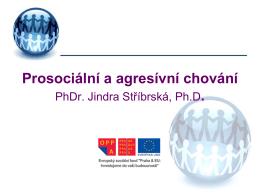 Prosociální a agresívní chování