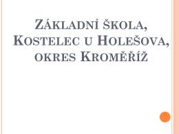 ZŠ - Kostelec u Holešova