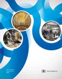 Výroční zpráva 2014 - Annual Report 2014