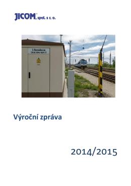 Výroční zpráva - JICOM, spol. s ro