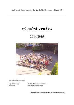 Výroční zpráva ZŠ