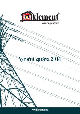 Stáhnout výroční zprávu 2014 CZ v PDF