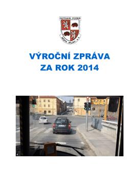 Výroční zpráva 2014 - Dopravní podnik města Jihlavy, as
