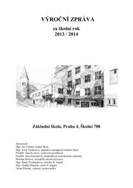 Výroční zpráva 2013/2014