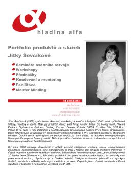 ZDE - Jitka Ševčíková