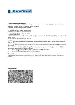 Tipy pro nejlepší výsledky při lepení! 1. Lepidla - kontaktni