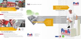 Katalog zateplovací systémy PROFI