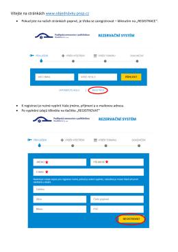 Vítejte na stránkách www.objednávky.pnsp.cz