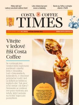 Vítejte v ledové říši Costa Coffee