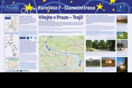 eurovelo trasy v evropě a Čr