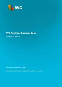 AVG Network edition (User Manual)