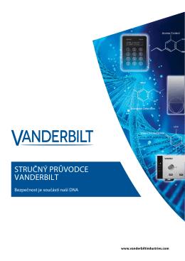 STRUČNÝ PRŮVODCE VANDERBILT - Vanderbilt International Sales