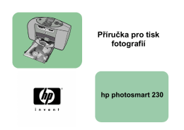 Příručka pro tisk fotografií