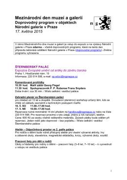 Mezinárodní den muzeí a galerií