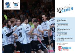 Mise Sever Dětský turnaj G2 liga juniorů 1. liga mužů Tipsport