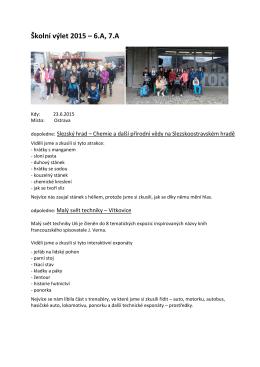 Školní výlet 2015 – 6