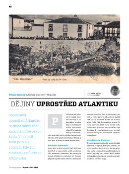 Dějiny uprostřed Atlantiku - Yachting Revue - srpen