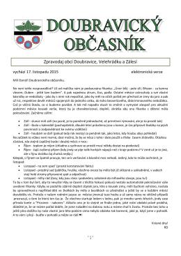 Doubravický občasník_2015-11