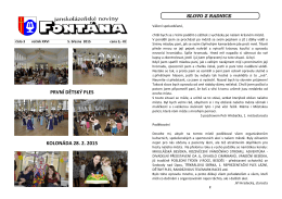 Fontána 03 2015