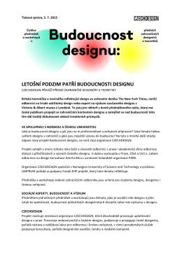 letošní podzim patří budoucnosti designu