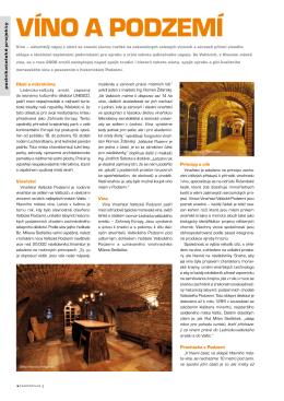Víno a Podzemí - Valtické podzemí