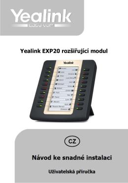 Yealink EXP20 rozšiřující modul