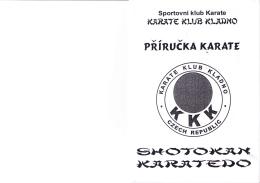 Příručka pro nábor - Karate Klub Kladno