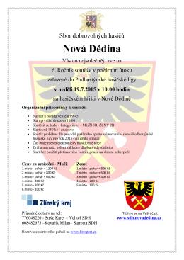SDH Nová Dědina