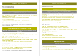 Program semináře - eMuzeum - Centrum pro prezentaci kulturního